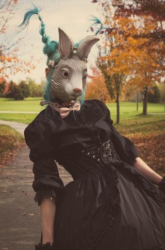 bunny ears hair style gloomth