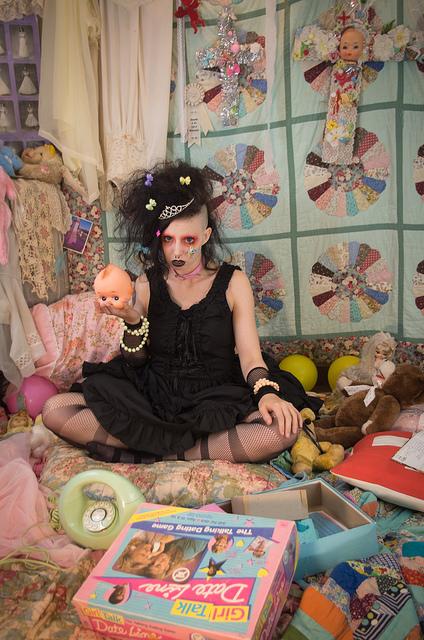 victorian grunge fashion toronto designer taeden hall