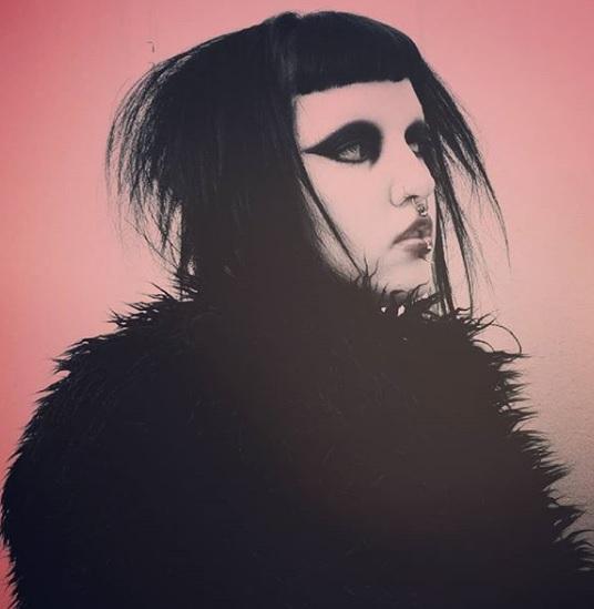 drac makens artwork and makeup artist gloomth interview
