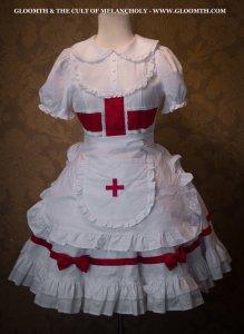 nurse-lolita-outfit-gloomth-fashion-toronto