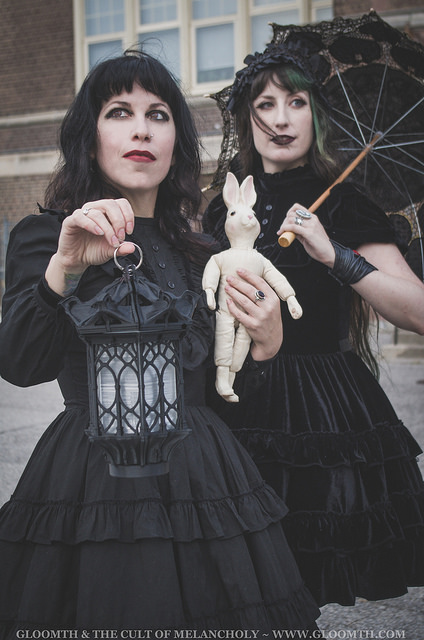 gothic fashion photoshoot editorial gloomth toronto canada