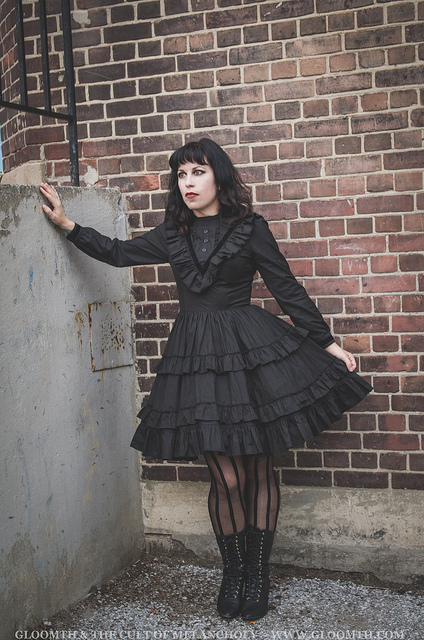 gothic victorian dress by gloomth