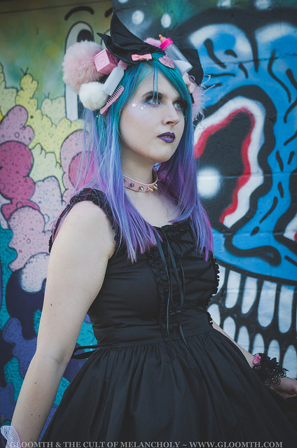 kawaii goth doll fashion by gloomth