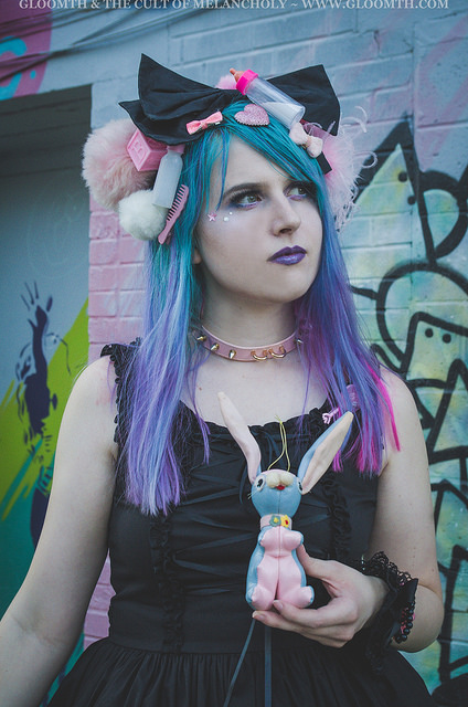 gloomth kawaii doll goth fashion toronto canada