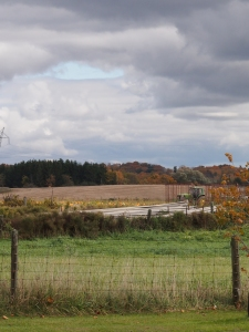 autumn farmer fields