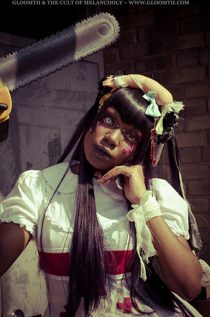 chainsaw nurse medical costume gloomth