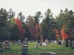 autumn victorian cemetery
