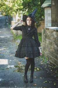gothic witch outfit cemetery gloomth