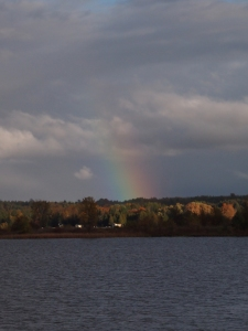rainbow in north ontario