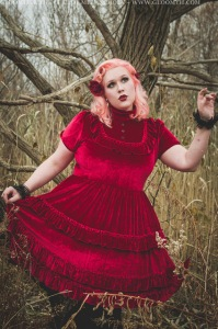 plus size gothic lolita dress by gloomth