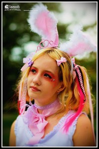 kawaii alice in wonderland white rabbit gloomth