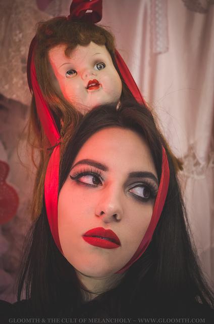 grunge valentine makeup inspiration gloomth