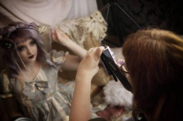 taeden hall gloomth toronto photography lolita gothic steampunk alternative