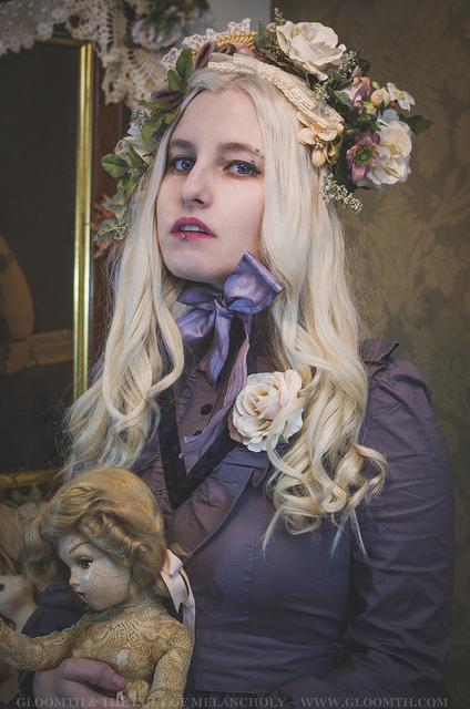 victorian vampire mourning dress grey gloomth