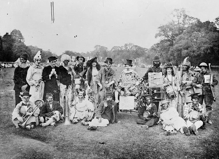 1919 clown band canada