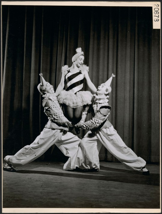 1946 big top ballet canada clowns dancers