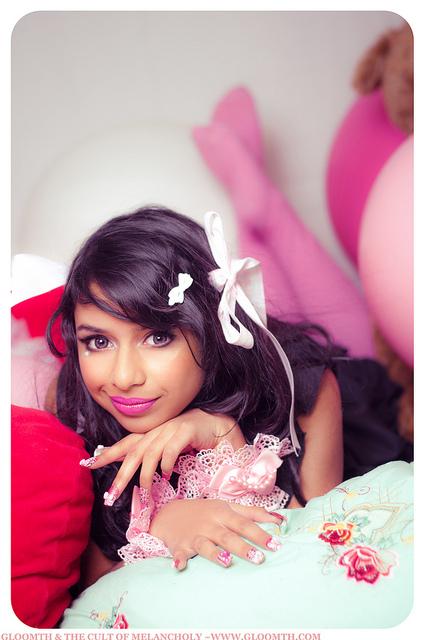 kawaii lolita fashion toronto living doll gloomth