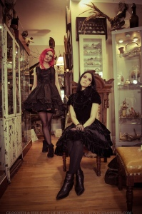 gothic fashion cabinet of curiosities gloomth