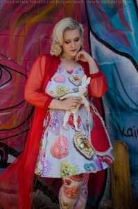 retro valentine heart candy box print dress kawaii outfit plus size by gloomth (8)