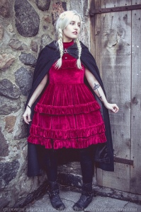 the vvitch witch inspired editorial gloomth