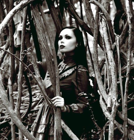 ReeRee Phillips and Gloomth gothic victorian fashion