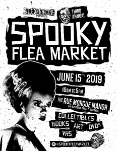 Gloomth will be at the Spooky Flea Market 2019