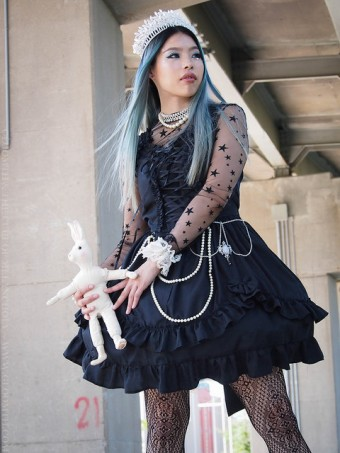 valance jumperskirt lolita gothic by gloomth