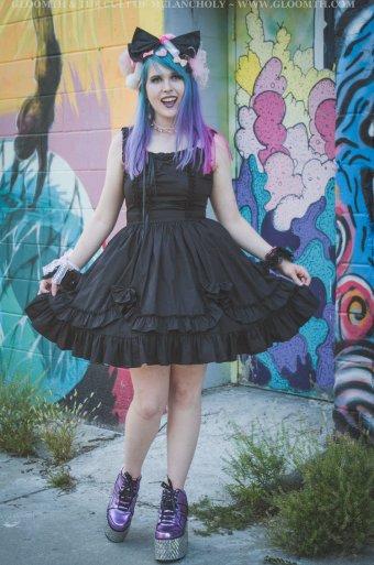 valance corset jumperskirt