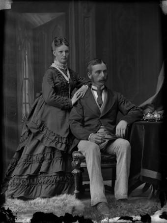 bustle victorian 1873