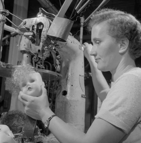 doll making 1950s vintage