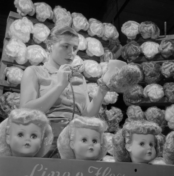 doll making 1950s