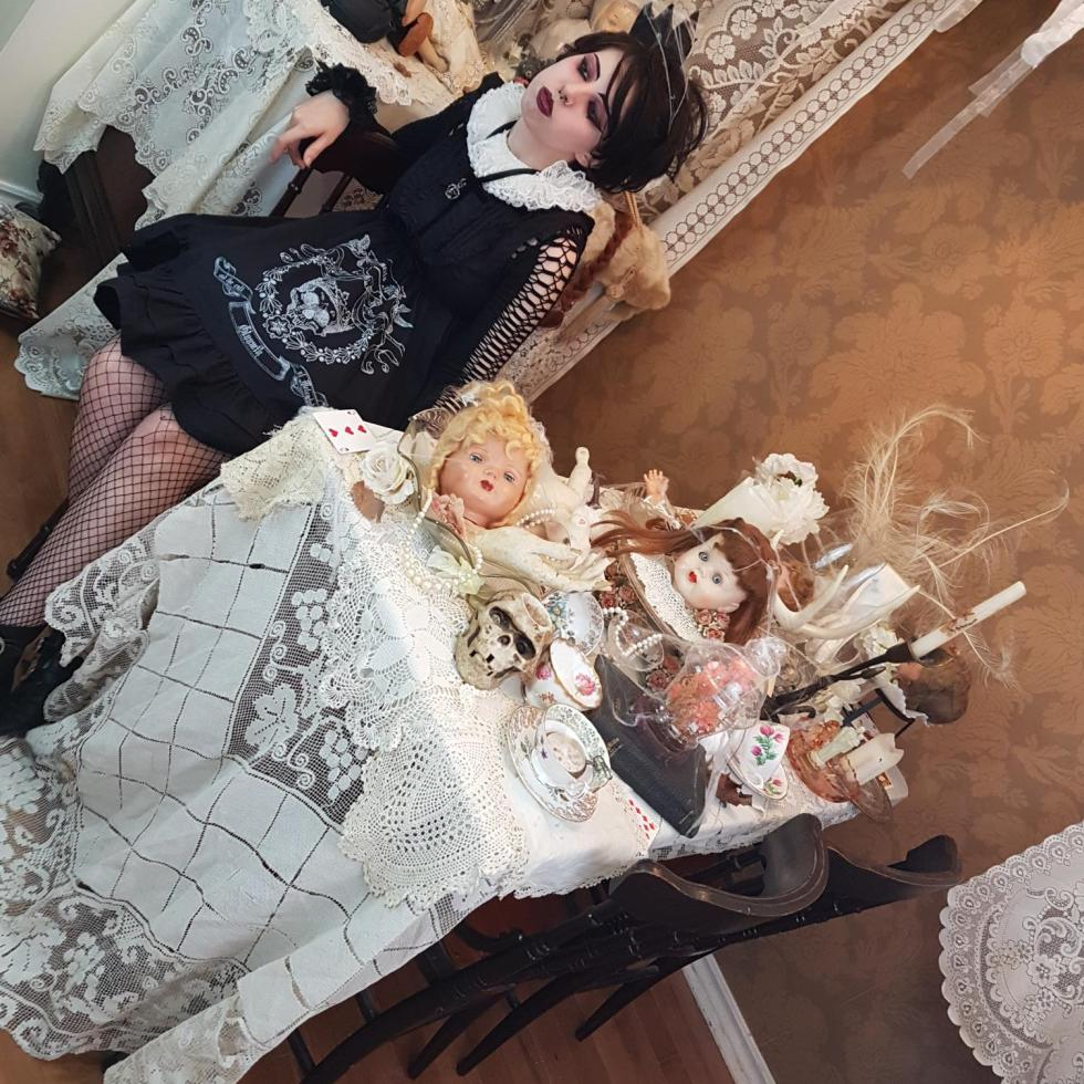 gloomth toronto gothic lolita fashion designer