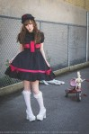 goth nurse dress lolita outfit (5)
