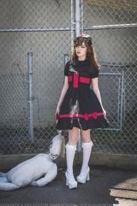 goth nurse dress lolita outfit (6)