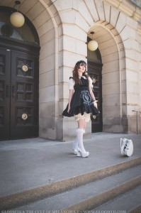 gothic doll outfit