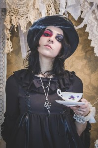 gothic mad hatter wonderland