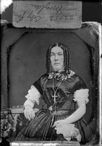 Mrs Moylan 1875 Canada Victorian portrait