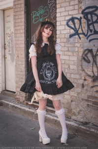 old school lolita by gloomth