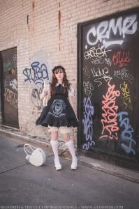 old school lolita style gloomth 1