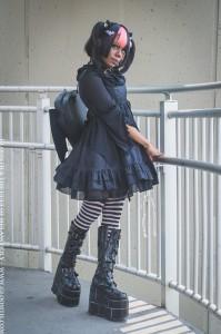 bat wing gothic lolita