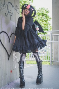 bat wing outfit bag dress
