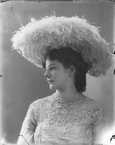 feather hat victorian era