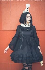 gothic clown fashion