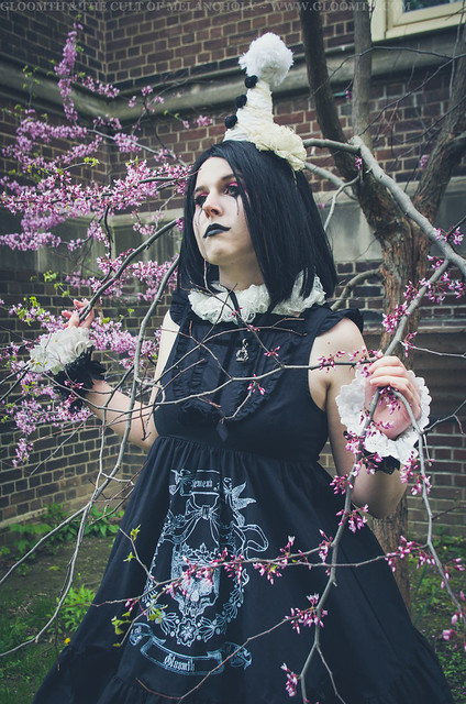 gothic clown outfit
