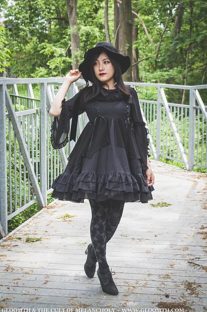 gothic lolita witch dress