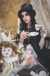 gothic mad hatter tea party