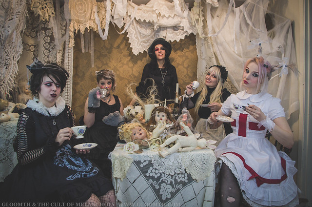 gothic wonderland photoshoot