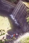 bridal veil falls kagawong ontario manitoulin island