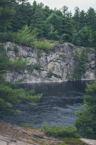 french river ontario canada