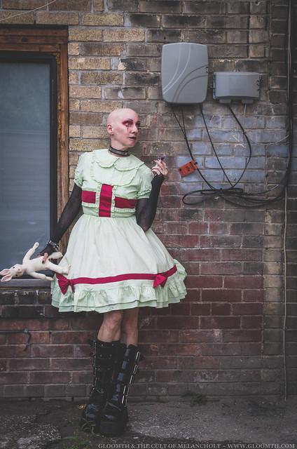 gothic halloween nurse